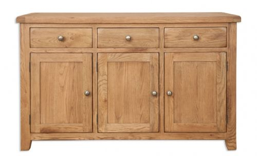 Melbourne Country Oak Large Sideboard